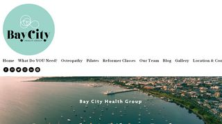 Bay City Health Group – Osteopathy & Pilates