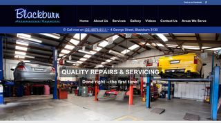Blackburn Automotive Repairs