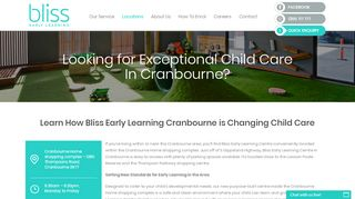 Bliss Early Learning Maroubra