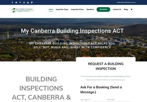 Canberra Building Inspections ACT