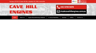 Cave Hill Engine Services. PTY. LTD.
