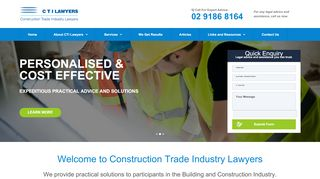 Construction Lawyers Sydney