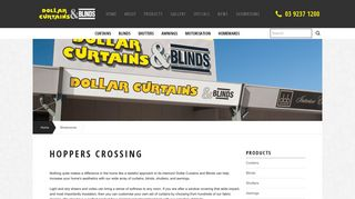 Dollars Curtains and Blinds – Hoppers Crossing