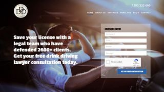 Sydney Drink Driving Defence Lawyers
