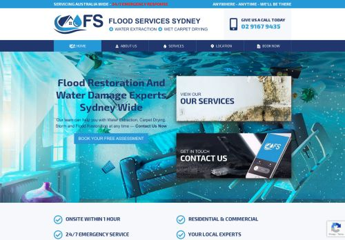 Flood Services – Flood Restoration & Water Extraction