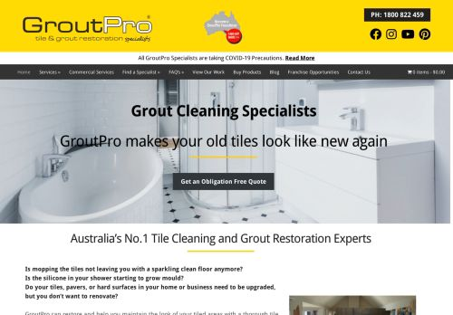 Grout Pro Tile Cleaning