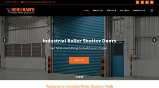 Industrial Roller Shutters Perth