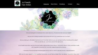 Jo Freeth Hair Artist