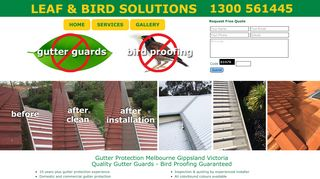 Leaf and Bird Solutions