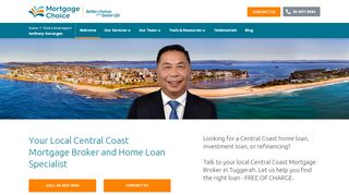 Mortgage Choice in Central Coast – Anthony Gerungan