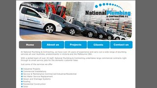 National Plumbing and Contracting