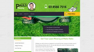 Paul's Mowing Melbourne