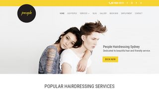 People Hairdressing Sydney
