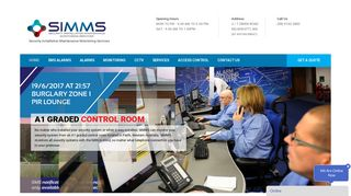 SIMMS (Security Installation Maintenance Monitoring Services) Perth