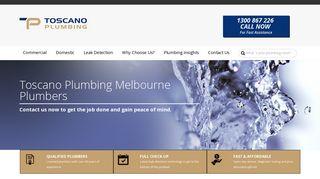 Toscano Plumbing Melbourne
